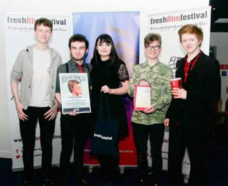Talaght Young Filmmakers Win Two Awards at the Fresh Film Festival
