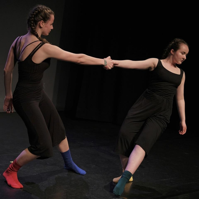 Emergence Participant Profile - Lucy West and Alexandra Vostokova